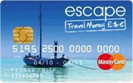 Escape Travel Money Mastercard Prepaid card