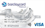 Barclaycard Platinum Credit card with 17 month balance transfer period