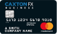 Caxtonfx Business Currency Card